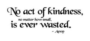 act of kindnes